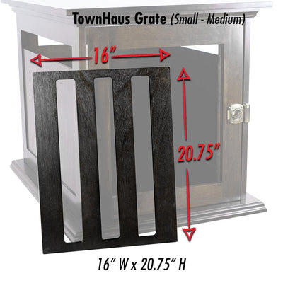 Grates, TownHaus Elite Replacement Wood Grate - DenHaus