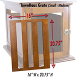 TownHaus Elite Replacement Wood Grate