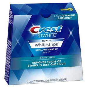 Crest 3D Whitestrips 1 Hour Express Teeth Whitening Strips