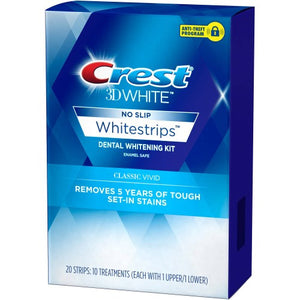 Crest 3D Whitestrips Classic Vivid Teeth Whitening Strips