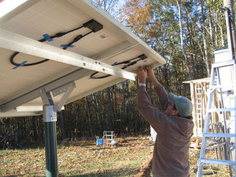 Solar Powered Well Pump Installation Photos Simple Pump – SunshineWorks
