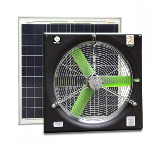 "20"" DC SNAP-FAN SOLAR KIT"