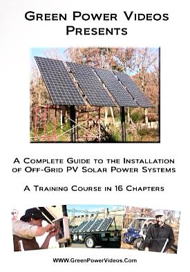 Solar Installation Video Off Grid PV Training Course 4 Hours 16 Chapters