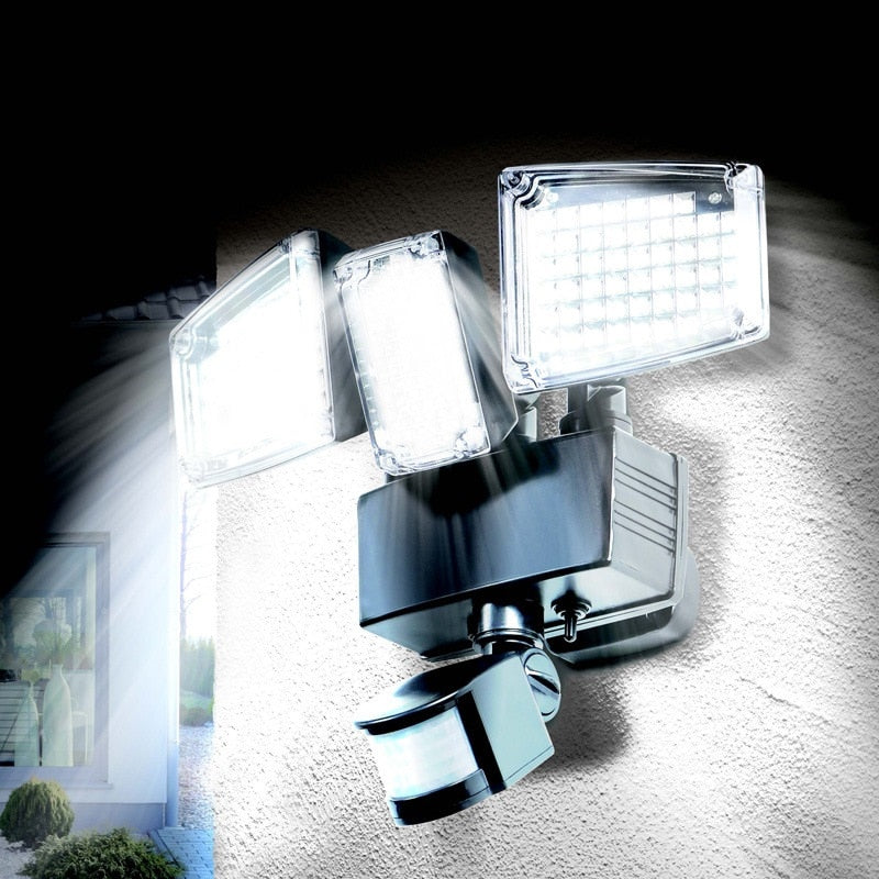 LED Outdoor Solar Wall Light 178/188 LED Water proof