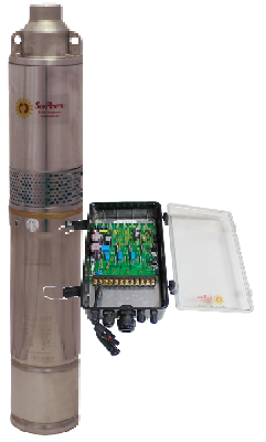 SUNROTOR SR-4 SOLAR Submersible, pump 250 Gallons per Hour up to 100ft.