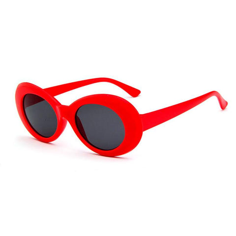 Frameless Oval Sunglasses