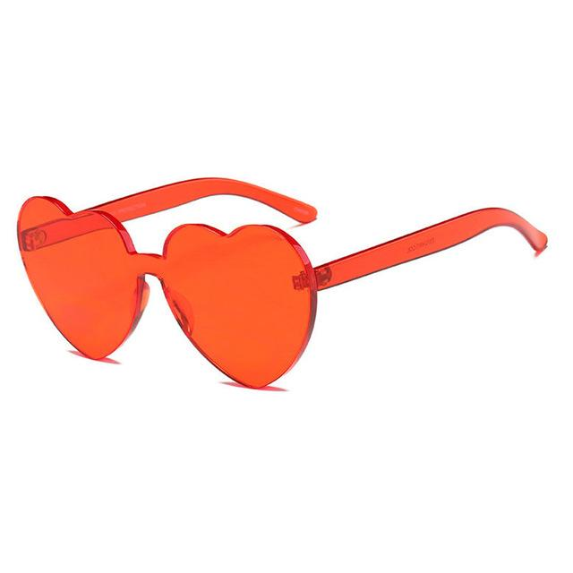 Frameless Heart Shaped Glasses