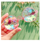 Kaleidoscope Round Sunglasses