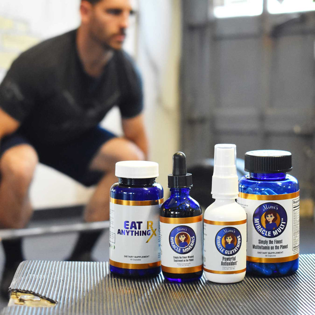 Destroy Your Weakness Transformation Pack (Subscription) | Fulvic Acid, Glutathione, Multivitamin, & Digestive Enzymes