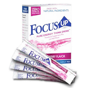"FocusUP® - The ""Pure-Energy Think-Drink"""