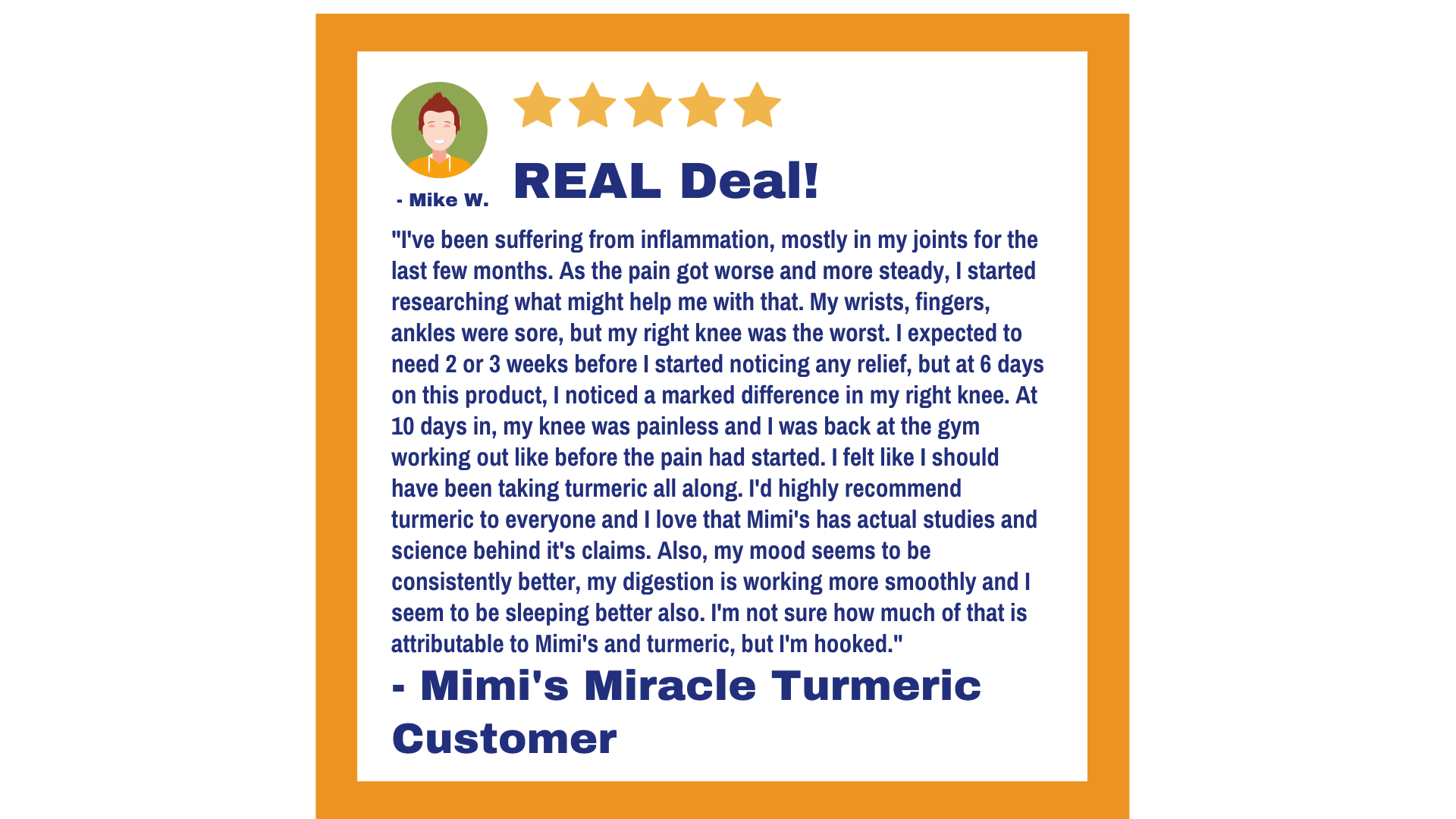 Mimi's Miracle Turmeric Review