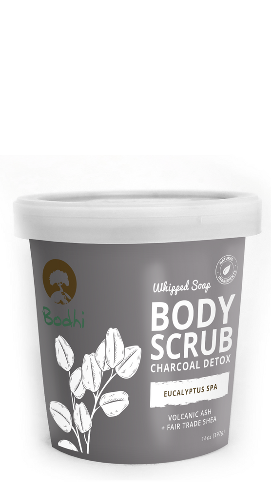 Bodhi Eucalyptus Spa Whipped Body Scrub - 14 oz