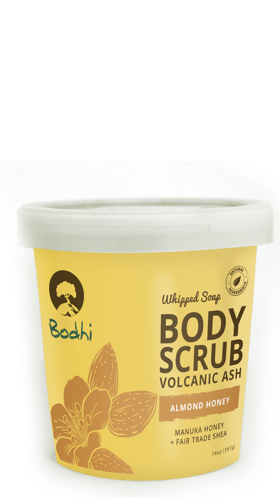 Bodhi Almond Honey Whipped Body Scrub - 14 oz