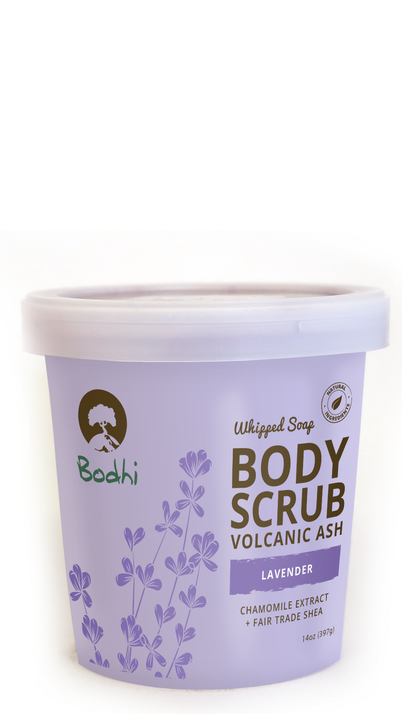 Bodhi Lavender Whipped Body Scrub - 14 oz