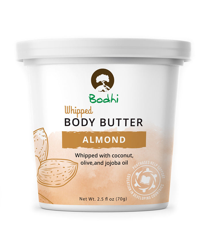 Bodhi Almond Whipped Body Butter - 2.5 oz