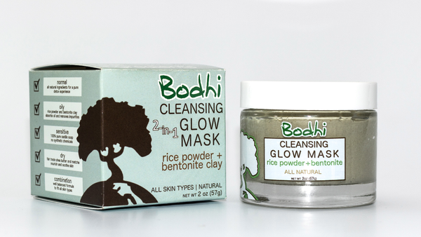 Bodhi 2-in-1 Cleansing Glow Mask - 2 oz