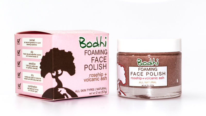 Bodhi Foaming Face Polish - 2 oz