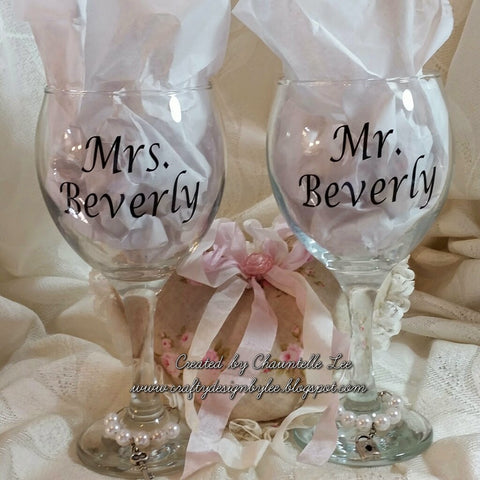 Personalized Wedding or Anniversary Gift Set