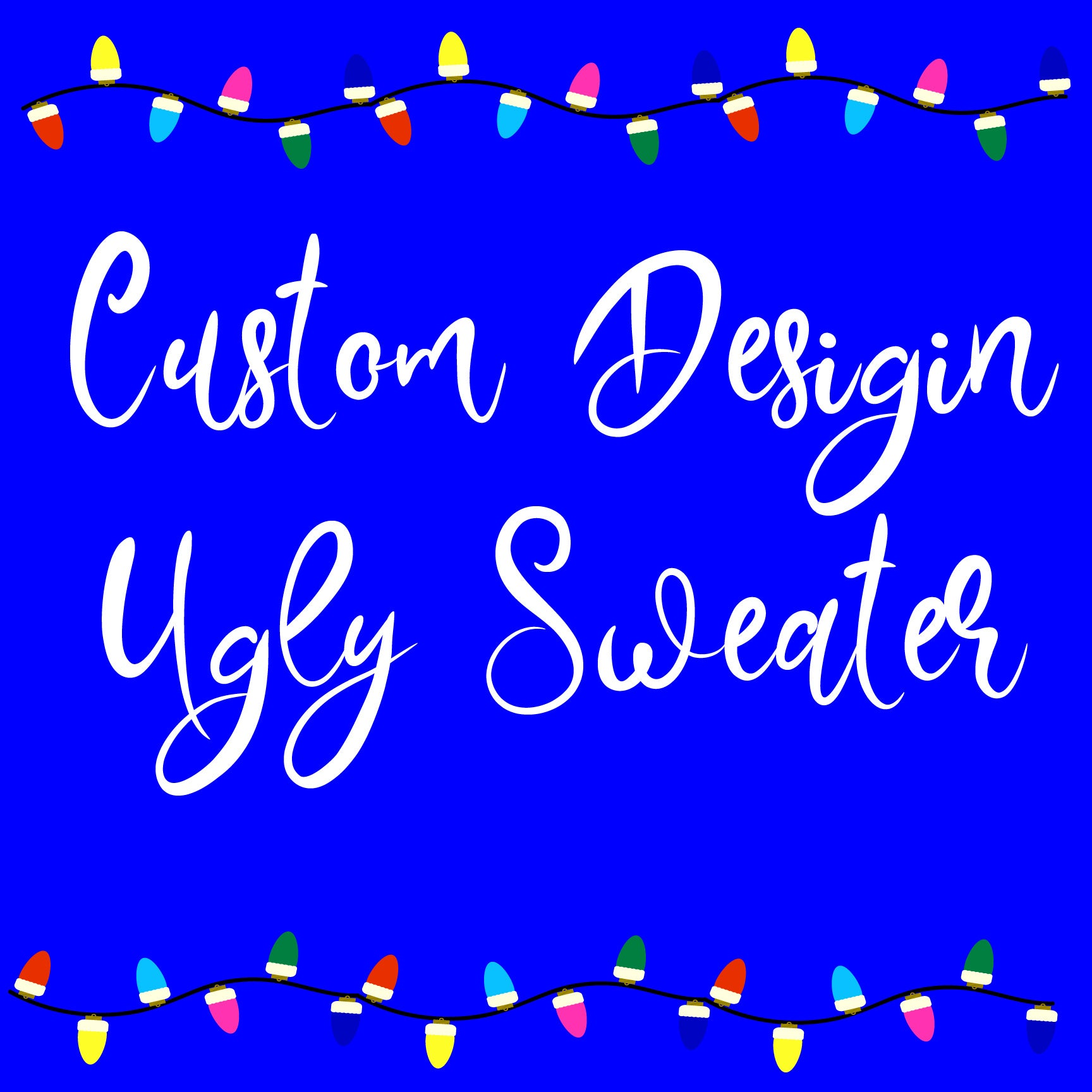 Ugly Sweater Christmas design