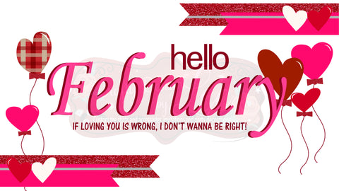 February Desktop Background - FREE