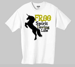 Loving Life - Free Spirit Collection Tee