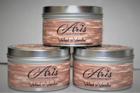 Veiled in Vanilla - Aris Scented Candles