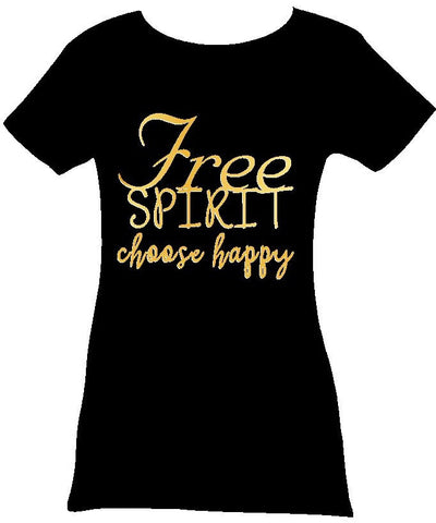 Free Spirit Tee - Choose Happy