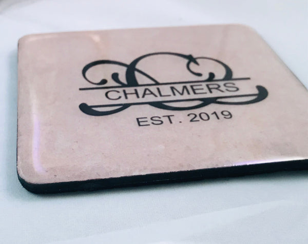 Personalized-Custom Coaster Set