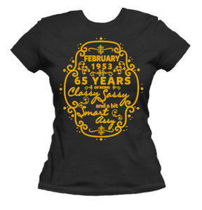 Smart and Sassy Birthday Tee
