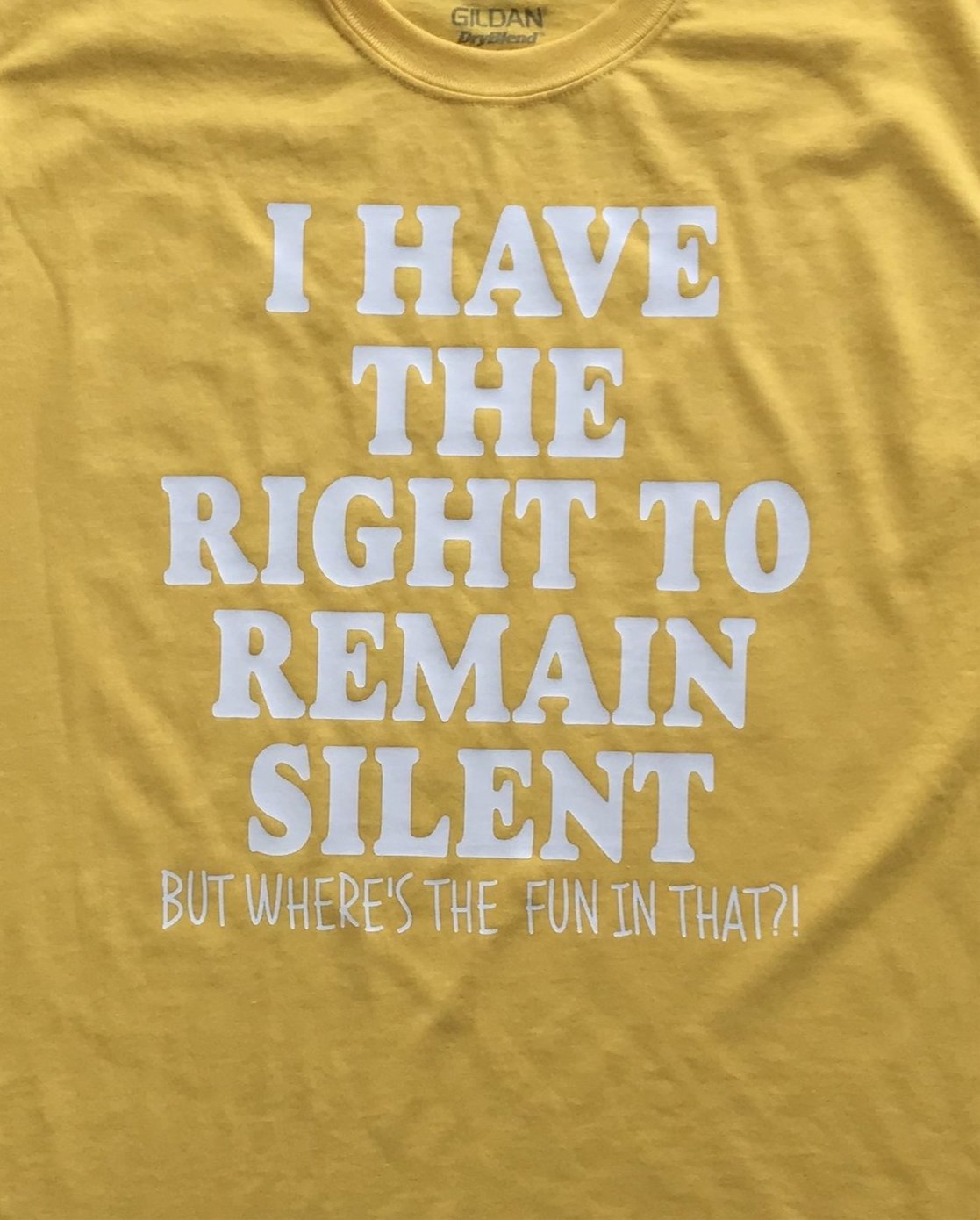 Right to Remain Silent but WHY - Pun Intended