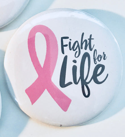 Pin back Button -Breast Cancer Awareness