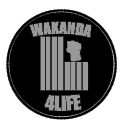 Wakanda Forever - Pin Back Button
