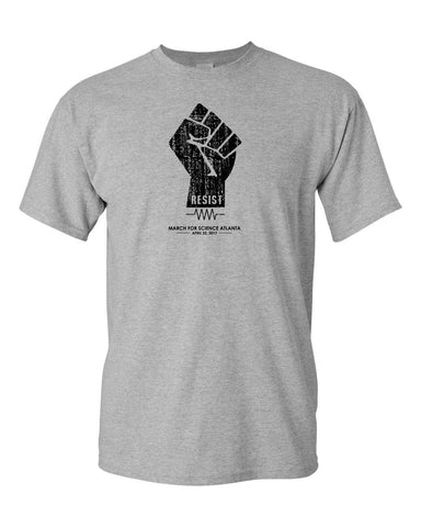 Retro Resist Fist T - Adult