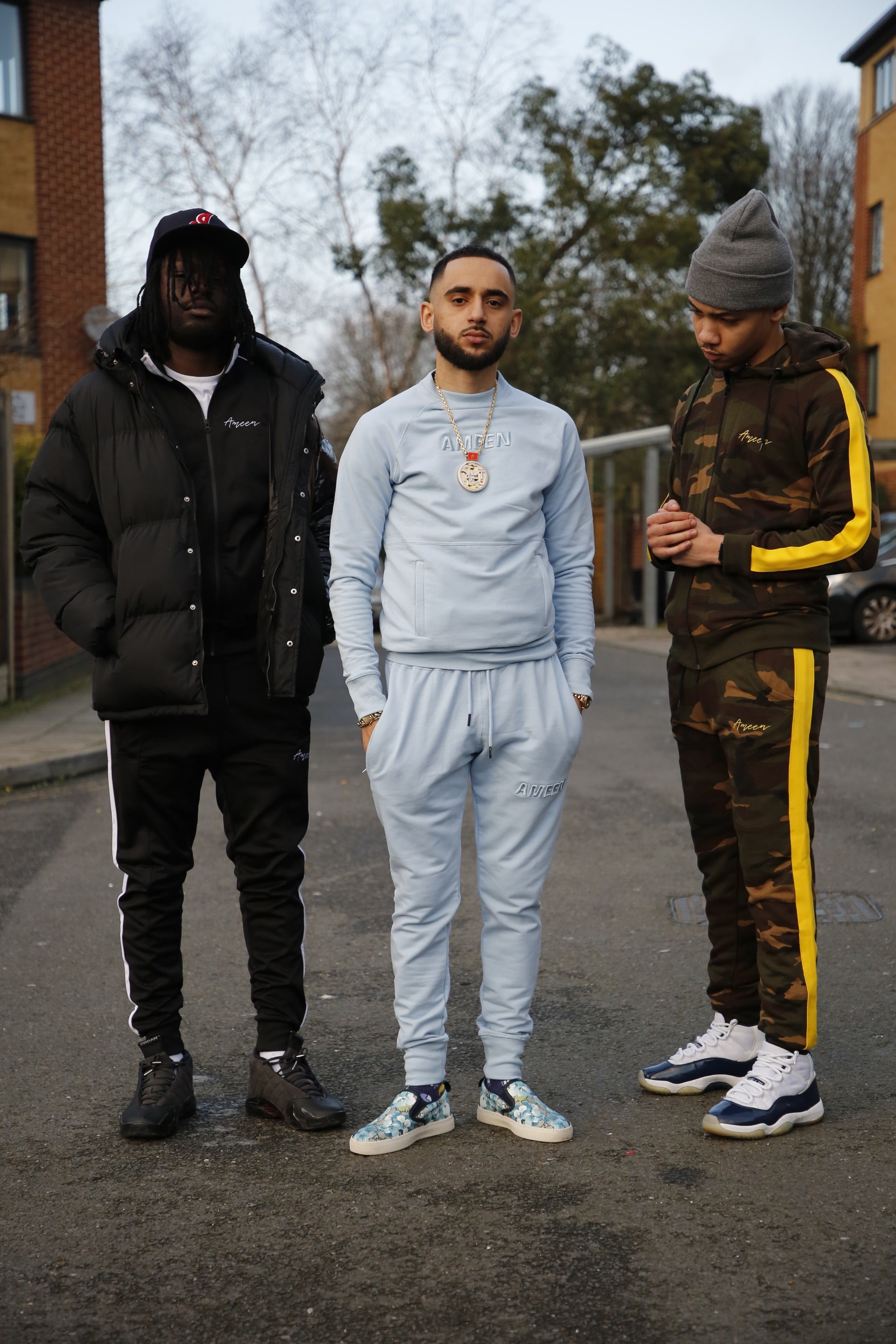 'Santorini' Light Blue Tracksuit
