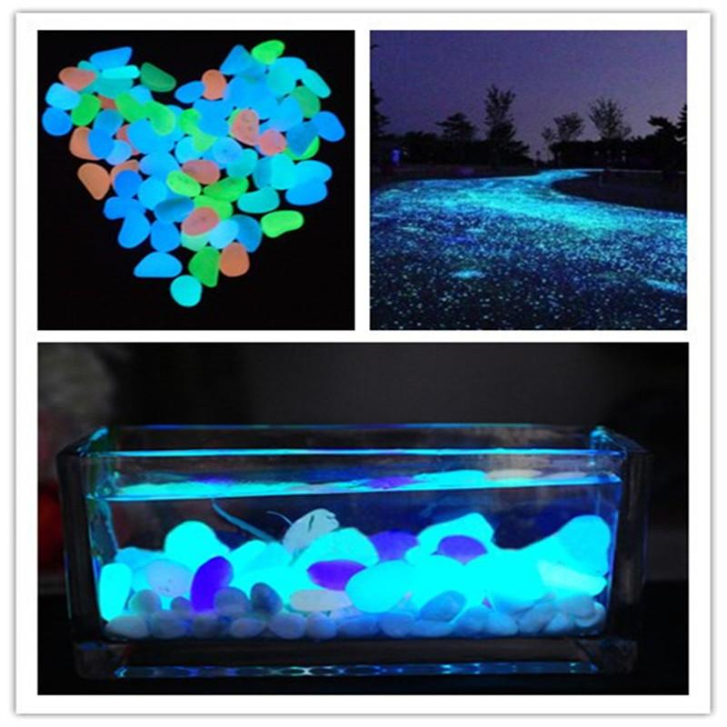 Glow Pebble Stones - 10 PCS