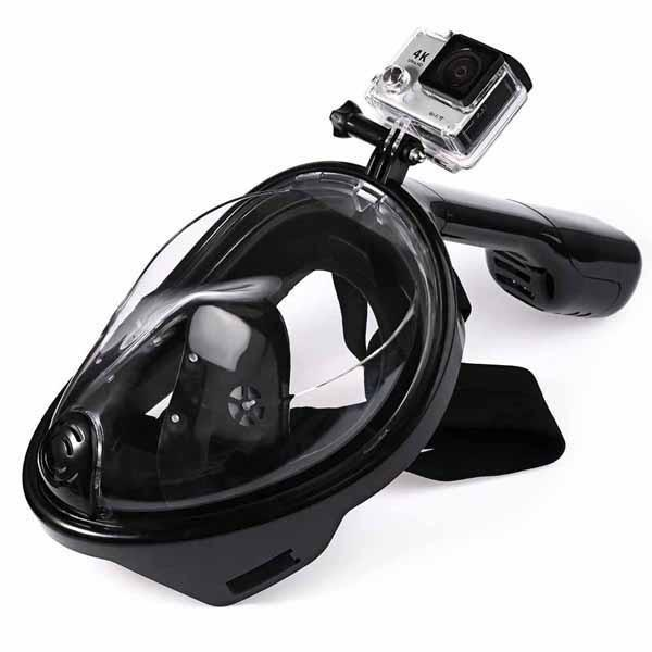 Full Face Snorkeling Mask - GoPro™ Compatible