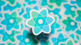 React sticker pack (of 5 or 10 - in Blue/Green)