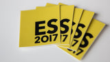 ES2017 sticker pack (of 5, 10 or 20)