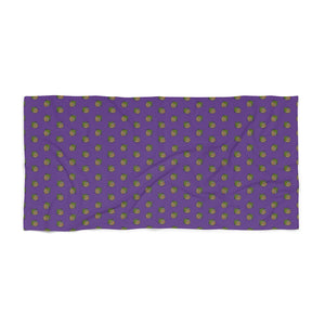 Purp Beach Towel