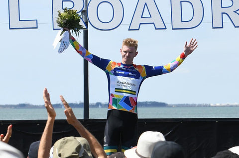 Nathan Elliott wins Sprint Jersey in Cadel Evans UCI World Tour 2019