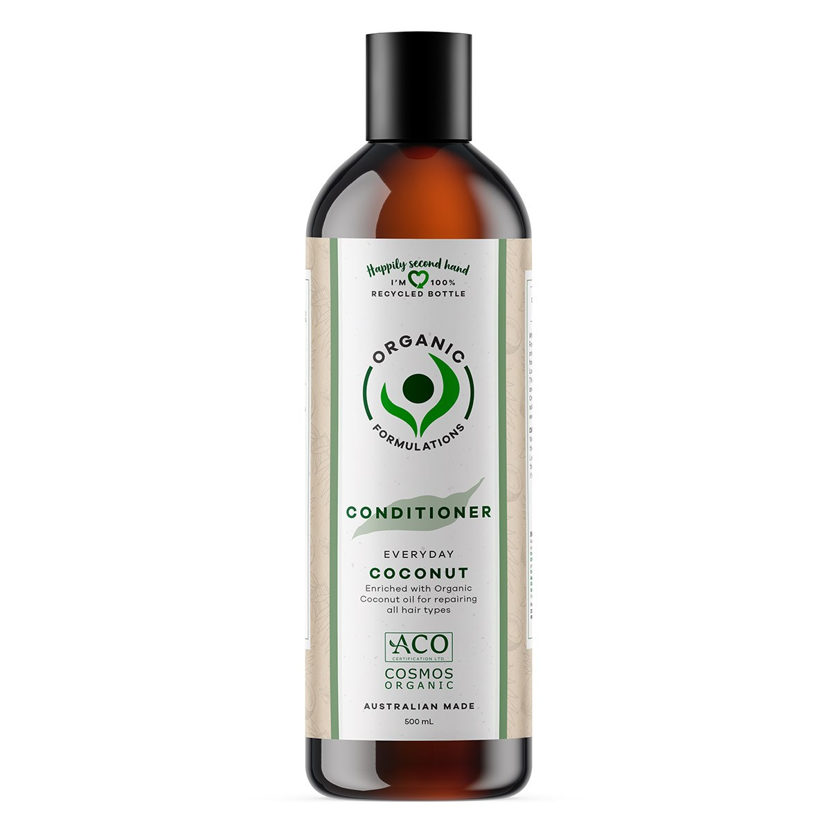 Organic Formulations Coconut Conditioner - All Hair Types   500ml