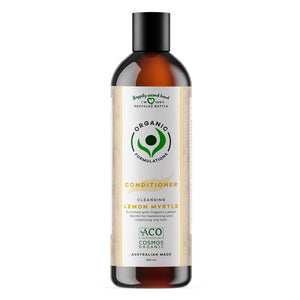 Organic Formulations Lemon Myrtle Conditioner - Oily Hair  500ml