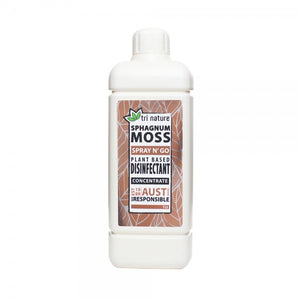 Sphagnum Moss Disinfectant -Spearmint & Musk (CONCENTRATE)