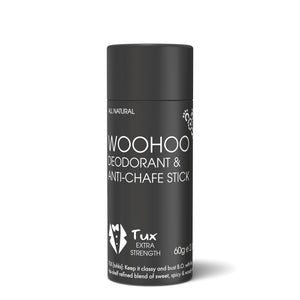 Woohoo Deodorant & Anti-Chafe Stick Tux (Extra Strength) 60g