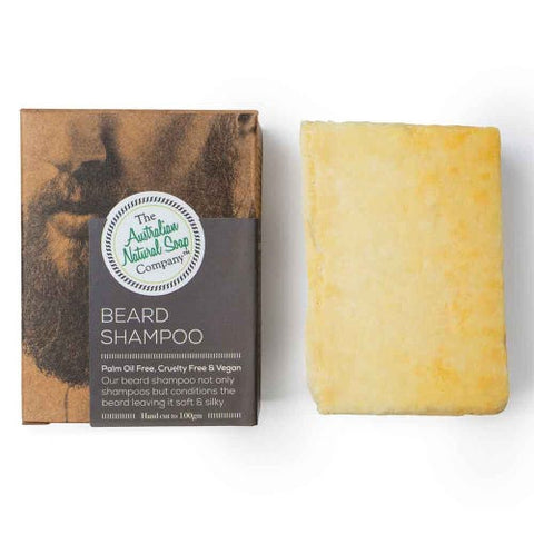 Beard Shampoo Bar 100g- The Australian Natural Soap Co.