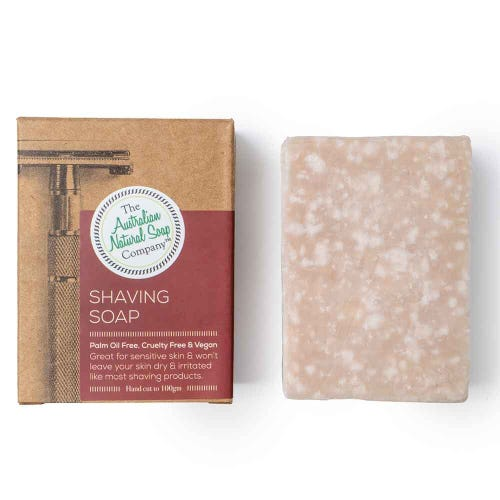 Shaving Soap Bar 100g- The Australian Natural Soap Co.