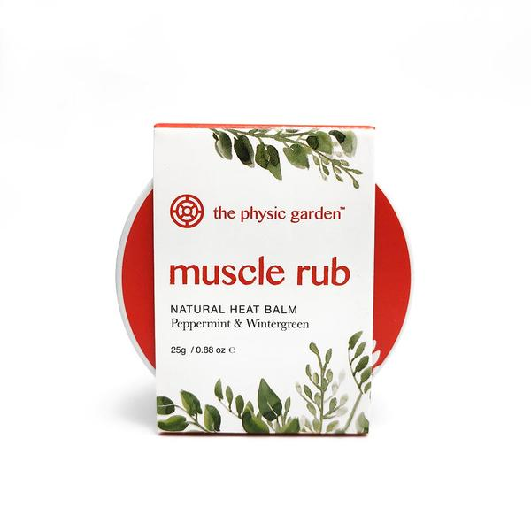 Physic Garden Natural Muscle Rub - 25g