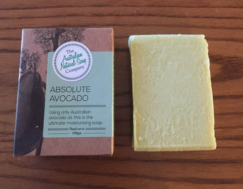 The Australian Natural Soap Company 100g - Absolute Avocado
