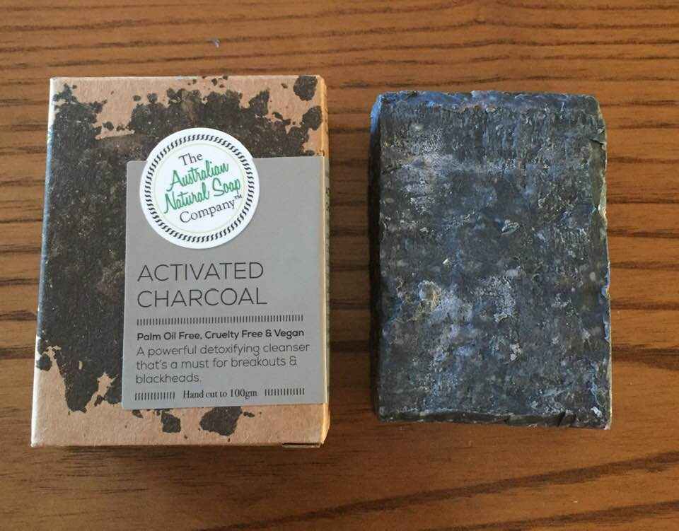 The Australian Natural Soap Company 100g - Activated Charcoal