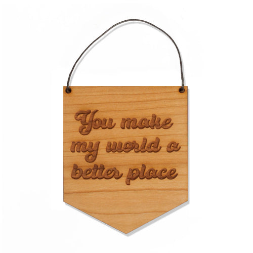 Wood Banner - Better Place
